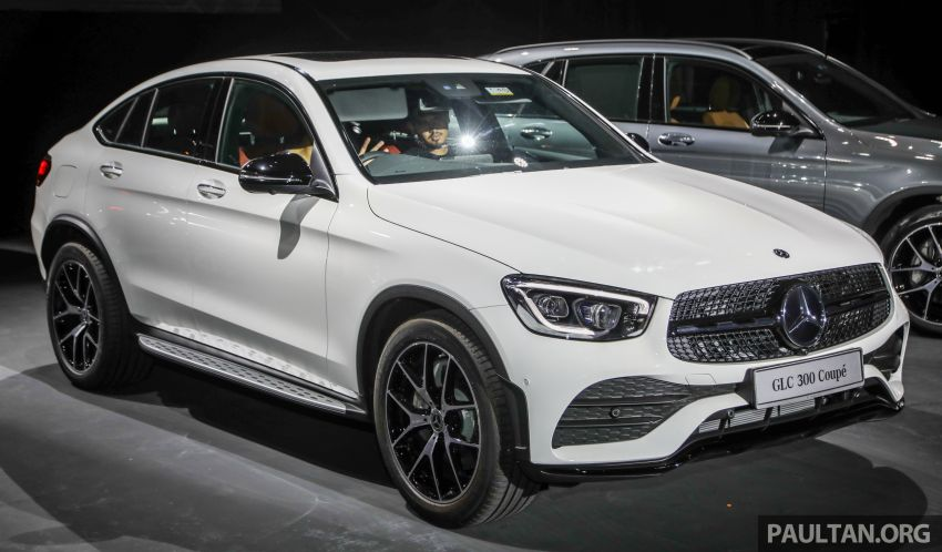 Chi tiết Mercedes-Benz GLC 300 Coupe facelift vừa ra mắt