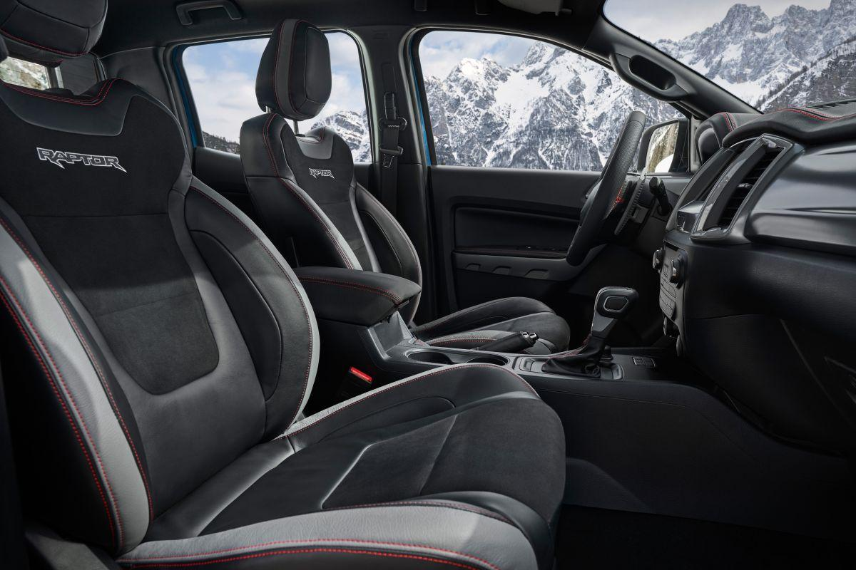 Nội thất Ford Ranger Raptor Special Edition 2021