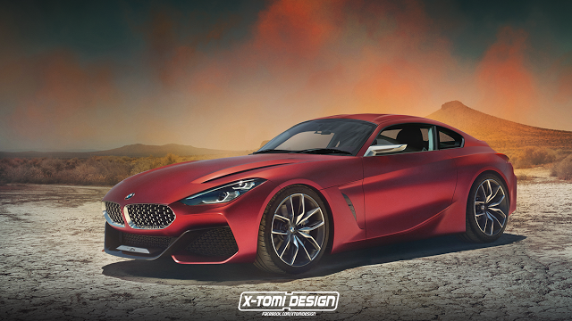 BMW Z4 Coupe Concept.