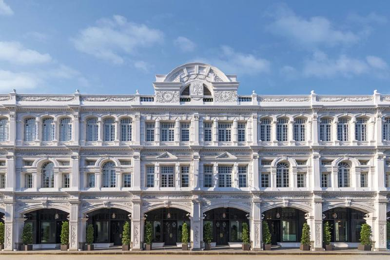 1. The Capitol Kempinski Hotel, Singapore: