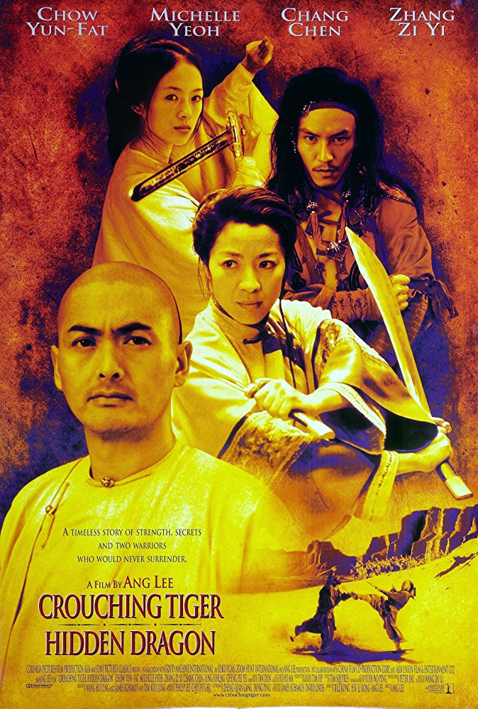 Poster phim Crouching Tiger, Hidden Dragon (Ngoạ Hổ Tàng Long)